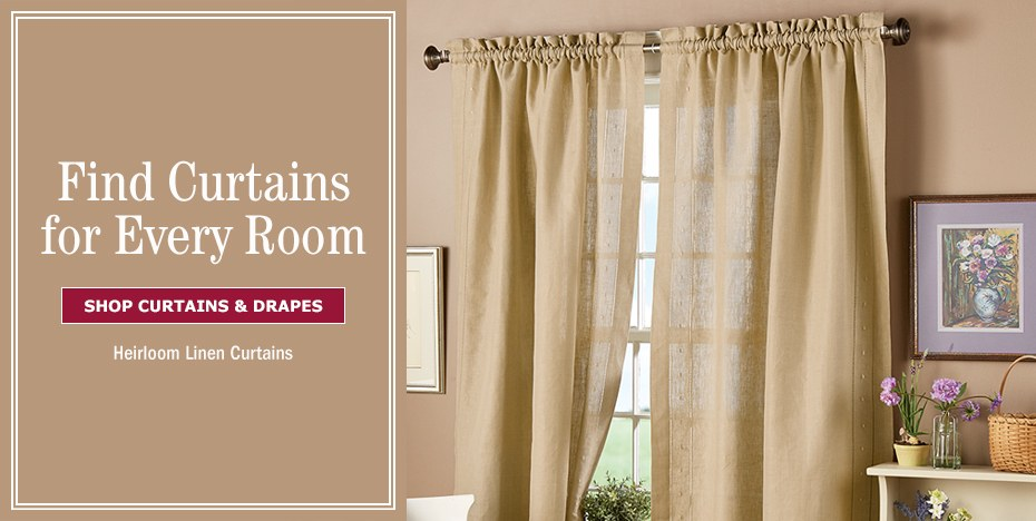 Country Curtains Window Curtain Panels Vermont Country Store