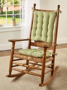 Mountain Weave Never Flatten Rocking, Home Goods Chair Pads