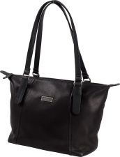 Stone Mountain Luxe Leather Shoulder Bag