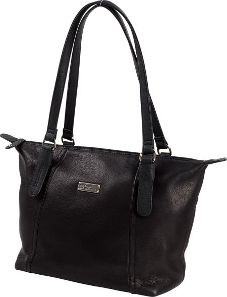 Stone Mountain Lux Leather Handbag