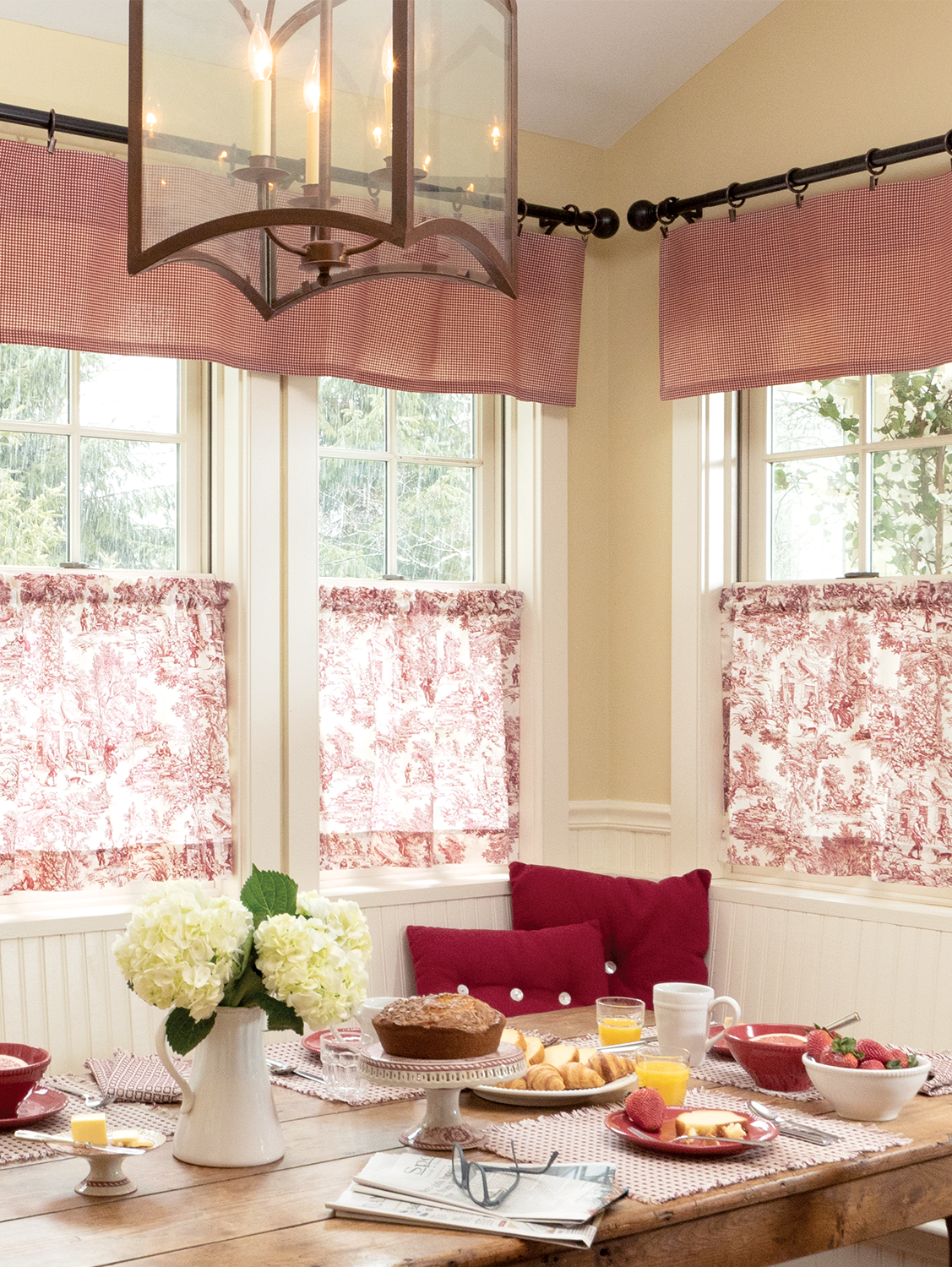 Kitchen Curtains Drapes Vermont Country Store