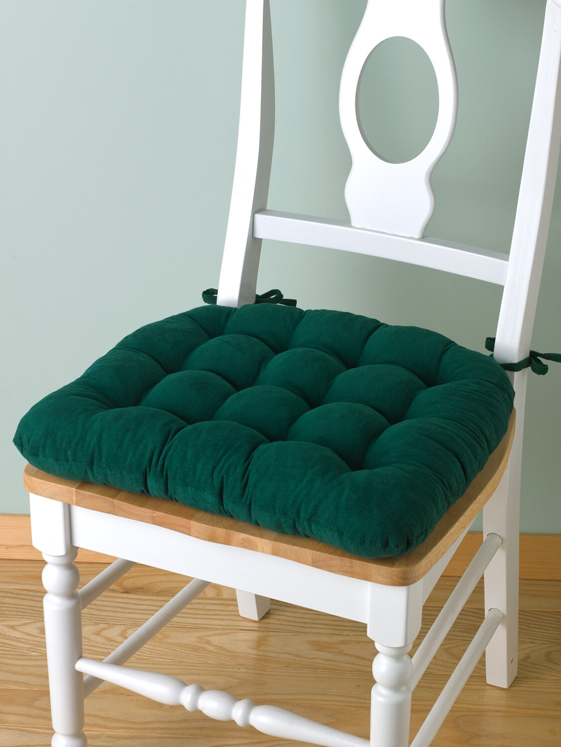 padded chair cushions | foam chair pads with ties