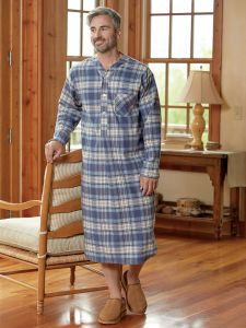 Portuguese Flannel 47 quot  Nightshirt ... e04ab5012