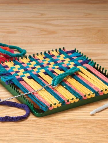 Traditional Potholder Loom and Loops Kit