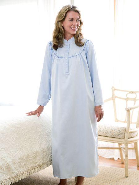 Brushed Satin nightgown
