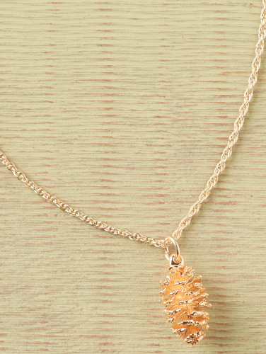 ca99b3da9 Real Pine Cone Necklace - 24K Gold or Sterling Silver
