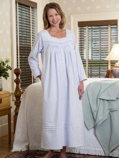 785502558c Eileen West Fairy Tale Flannel Nightgown