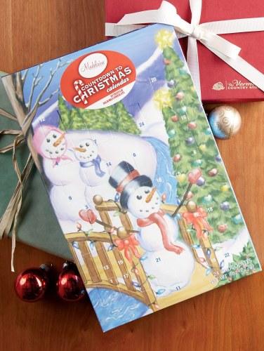 Christmas Advent Calendar.Chocolate Advent Calendar