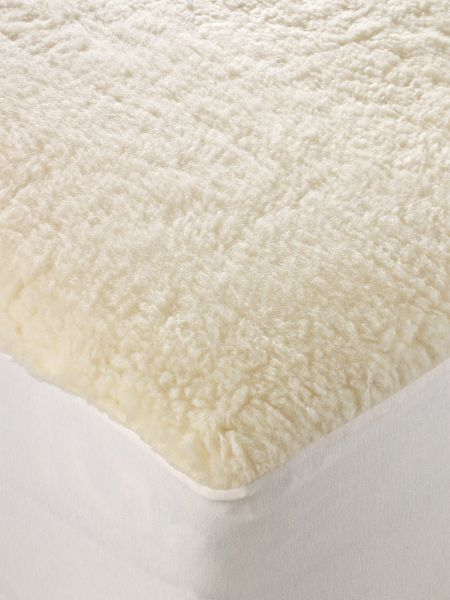 Wool Mattress Pad Merino Fleece Topper