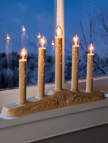 Christmas Window Candles.Electric Window Candle In 3 Sizes