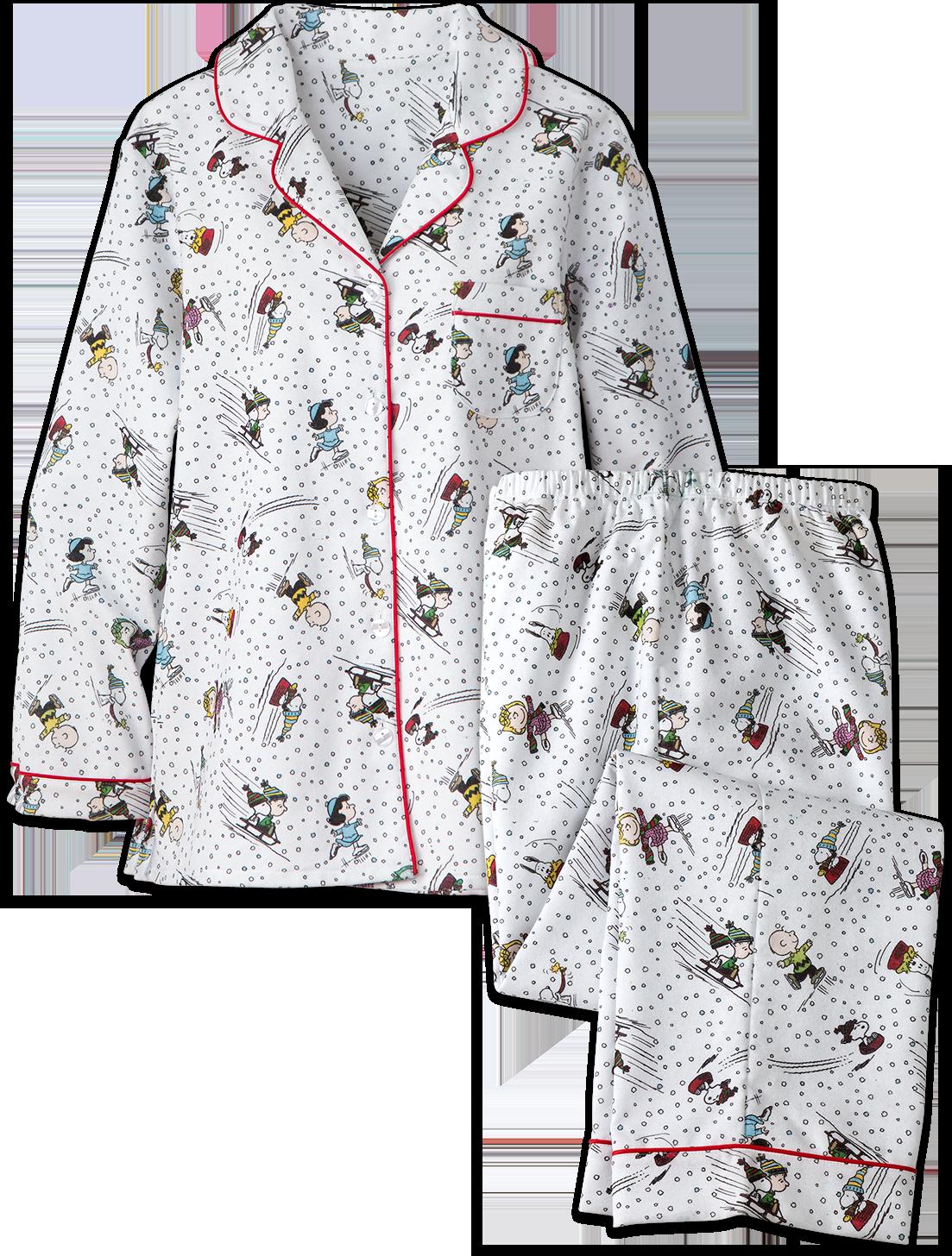 Women's Peanuts Snow Fun Pajamas
