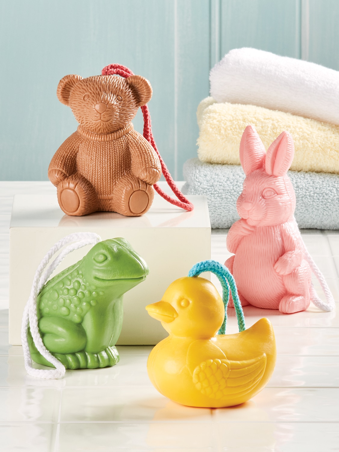 Farm Animal Soap On A Rope Kids Rope Soaps