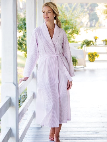 cheapest sale good factory price Women's Seersucker Robe
