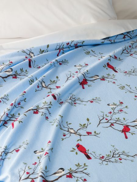 Cotton Flannel Sheet- Blanket Made In Portugal 28e2c2e9a