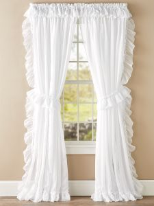 Sheer Window Curtains Light Filtering Panels