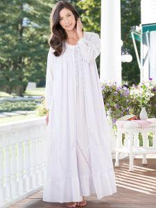 540fd487f154 Eileen West Moonlight Sonata Cotton Robe