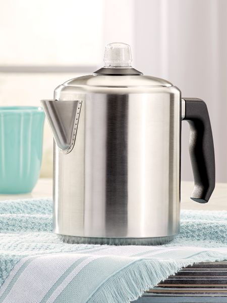 Kn Monarch Stainless Steel Percolator