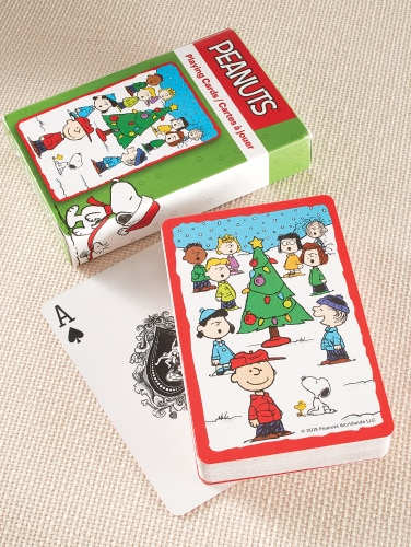 A Charlie Brown Christmas Playing Cards
