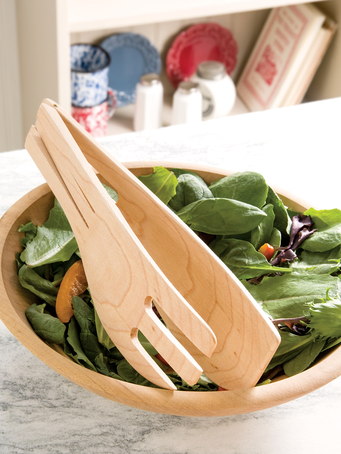 Vermont Crafted Hinged Salad Server