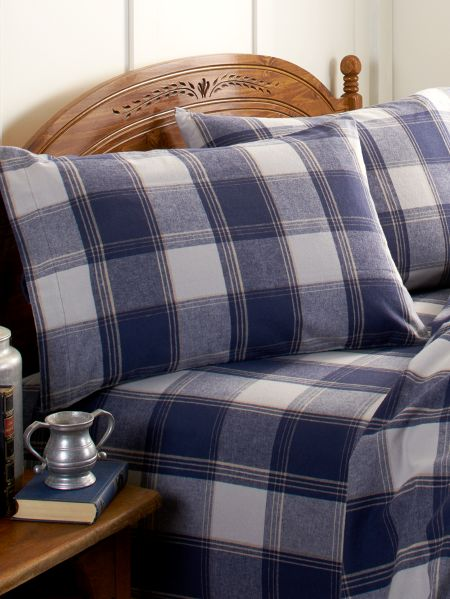 Dorset Plaid Flannel Sheet Set