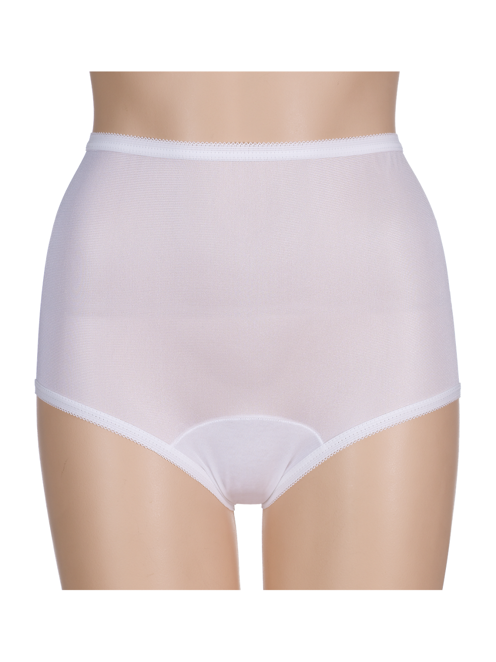 nylon full brief panties | womens underwear | 3 pair