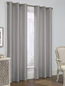 Room Darkening Insulated Grommet Top Curtain Panels