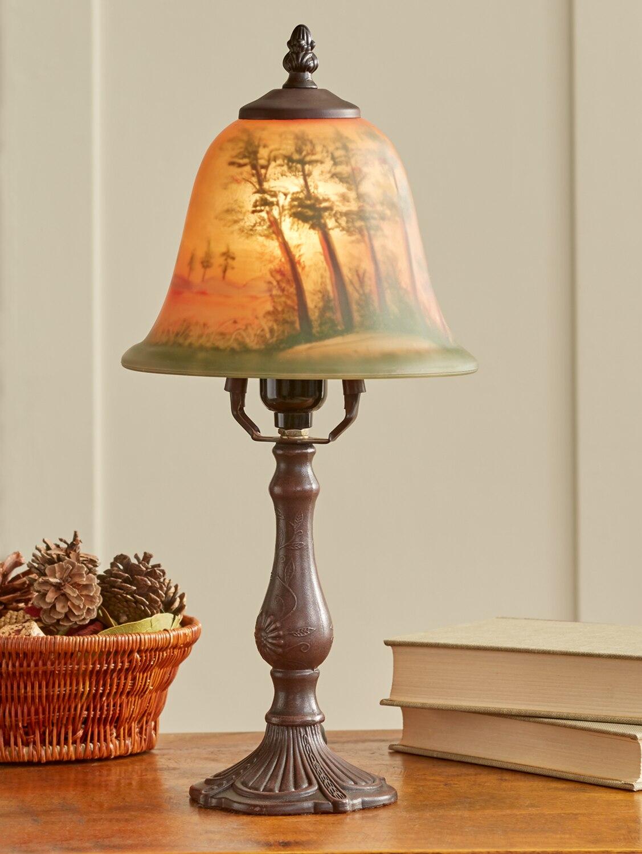 Amber sunset lamp