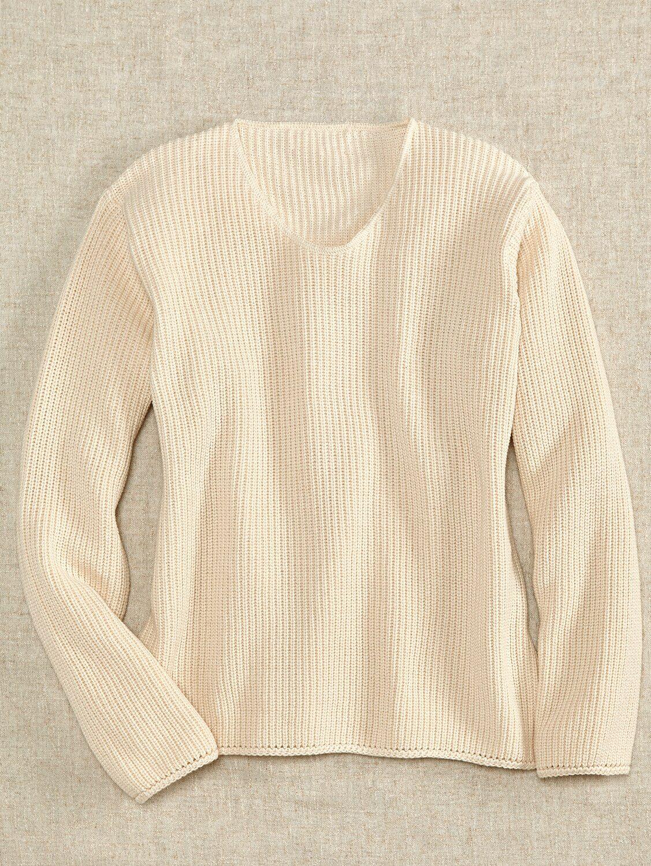 592ffbf47773 Womens Shaker Cotton Sweater