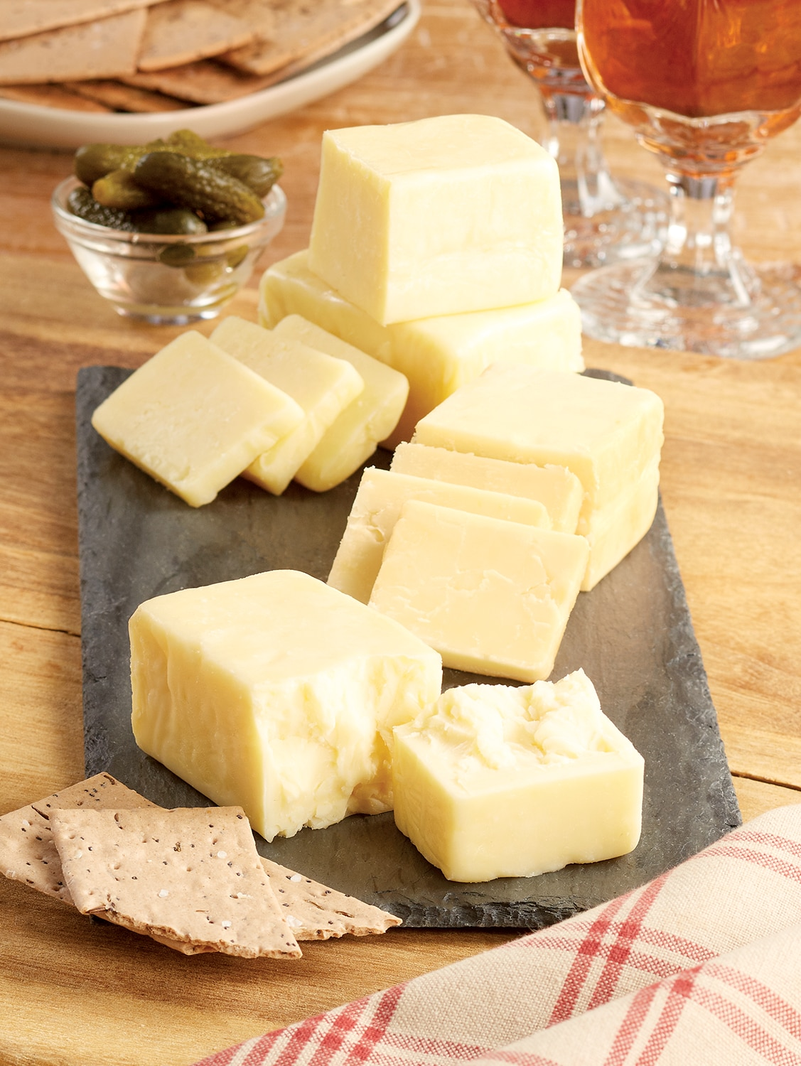 Vermont Cheddar Cheese Sampler, Four 4 oz. Blocks