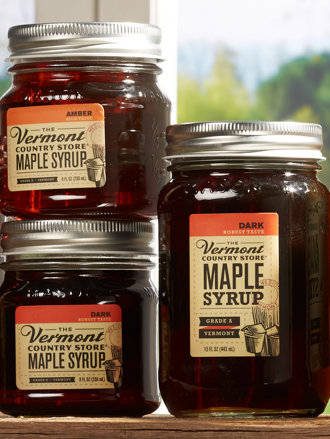 Vermont Maple Syrup Mason Jar