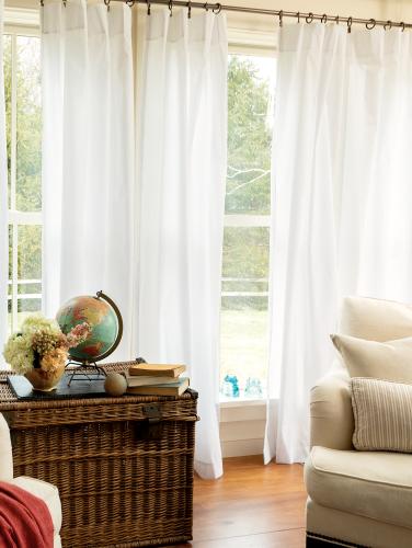 Simple Rod Pocket Curtain Panels