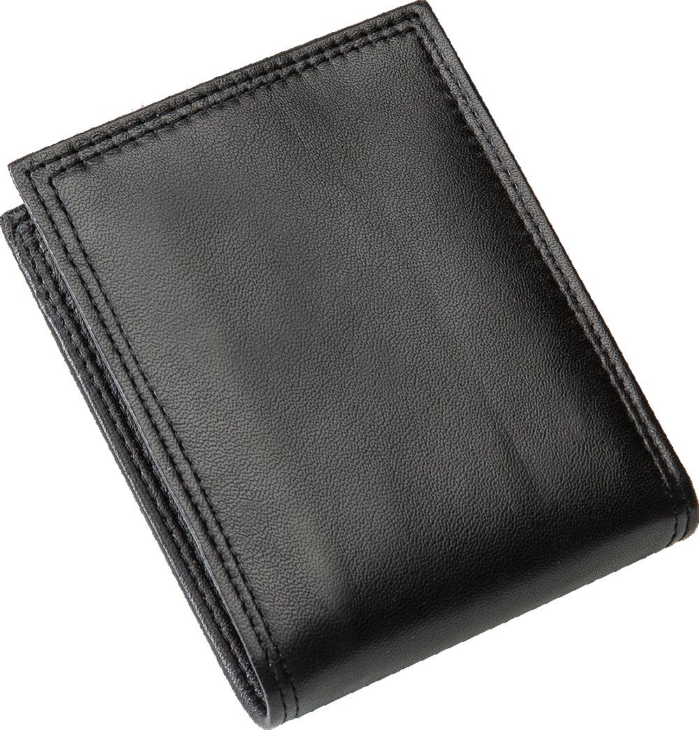 Men's Leather Bi-Fold Billfold