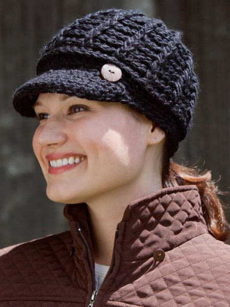 Knit Baseball Hat  1834156cd39