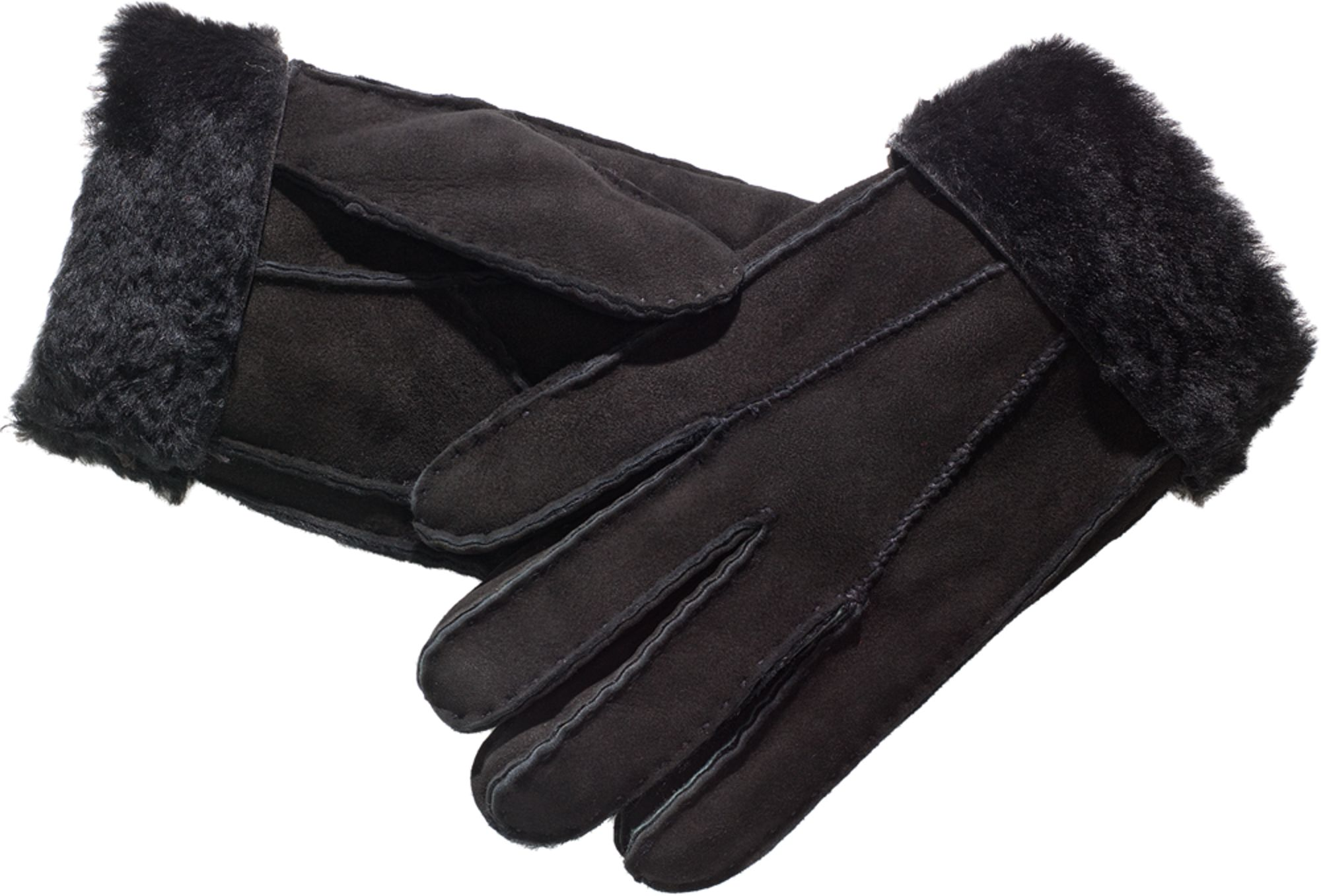 48c7e5af Womens Shearling Gloves | Hand-Sewn Suede Gloves For Women