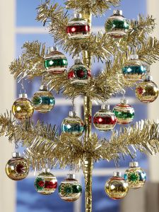 mini reflector ornament set