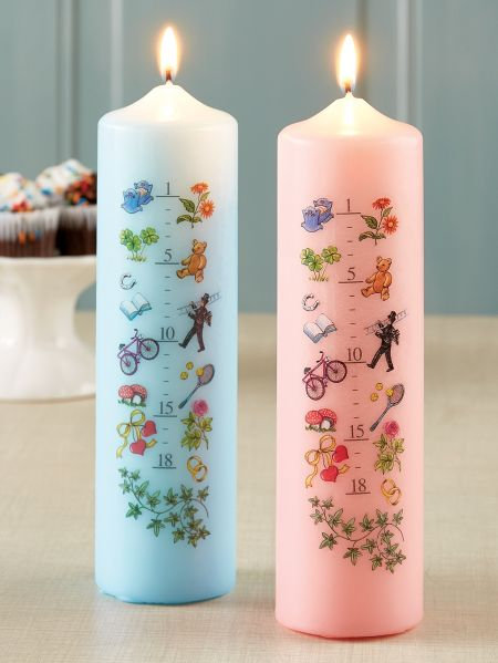 Advent Birthday Candle