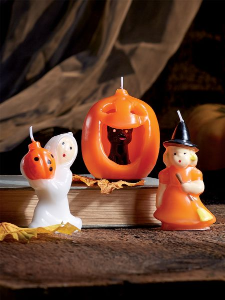 halloween candle trio - Halloween Candle