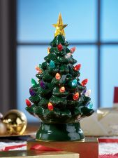 plug in ceramic christmas tree