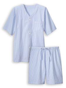 5aa673dafc59 Classic Seersucker Shortie Pajamas