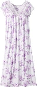 Eileen West Wisteria Cap Sleeve Nightgown b3f59788e
