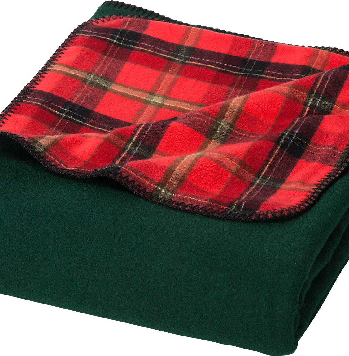 Relatively Wool and Flannel Blanket | Green Mountain Throw CE93