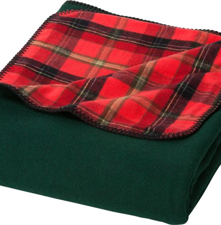 Green Mountain Wool And Flannel Throw