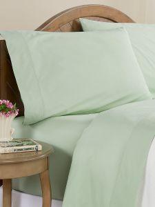 Clothesline Crisp Cotton Percale Sheet Set