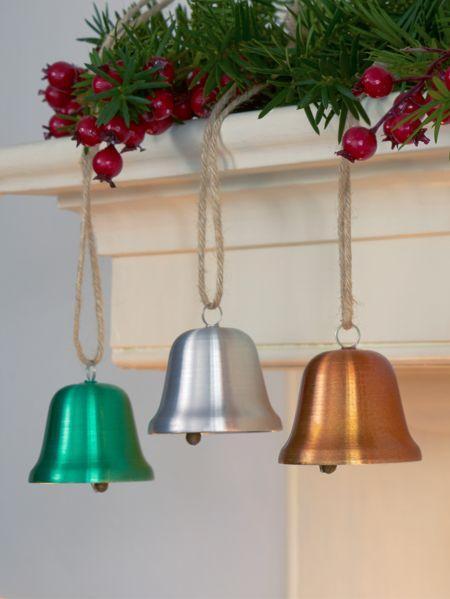 Carol tone bells aluminum bell ornaments