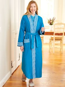 Eileen West Flannel Forget Me Not Robe d5f49dd39