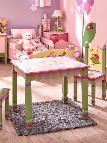 Magic Garden 3 Piece Table And Chair Set