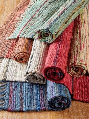 Cotton Rag Rugs Sturbridge Throw Rug