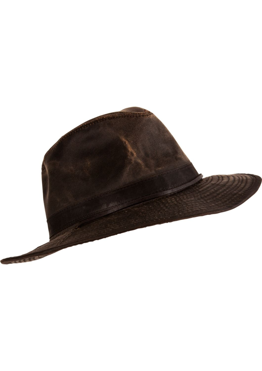 6eb971b01e32c5 Mens Outback-Style Hat | Weathered Broad Brim Hat