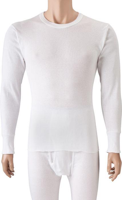 Mens Long Underwear Top | Lightweight Cotton Knit