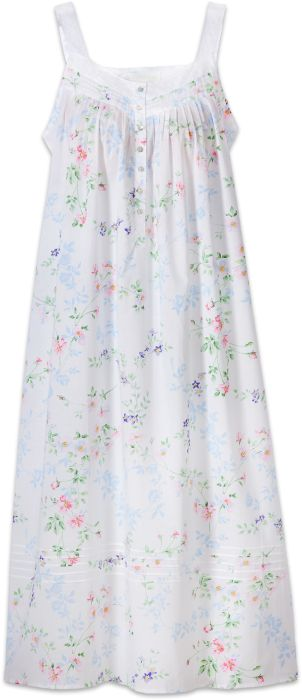 Eileen West Floral-Print Nightgown  095c8ce38